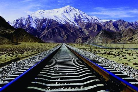 青藏铁路沿途风景照片